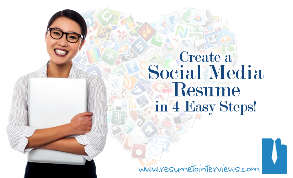Complete Guide to a Social Media Resume in Four Easy Steps
